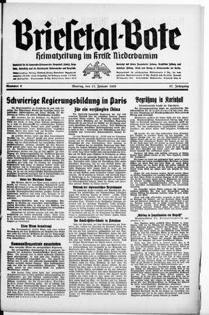 Briesetal-Bote vom 17.01.1938