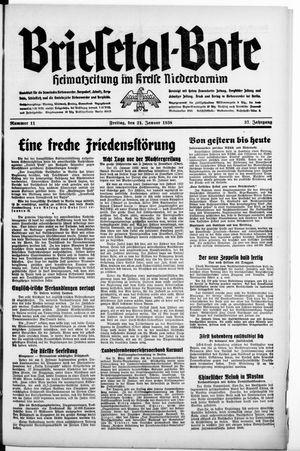 Briesetal-Bote vom 21.01.1938