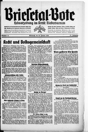 Briesetal-Bote vom 26.01.1938