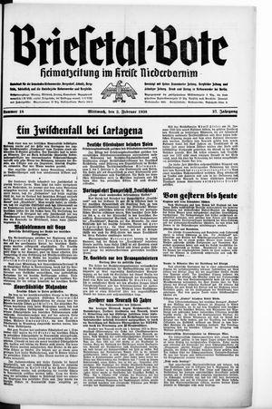 Briesetal-Bote on Feb 2, 1938