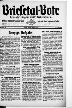 Briesetal-Bote vom 04.02.1938