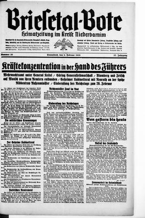 Briesetal-Bote vom 05.02.1938