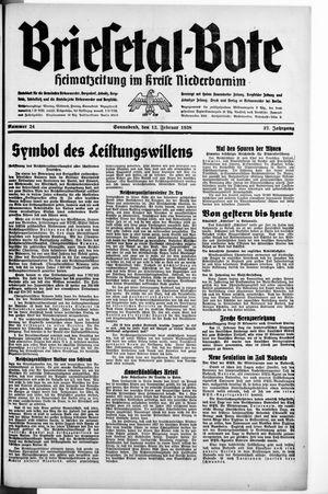 Briesetal-Bote vom 12.02.1938