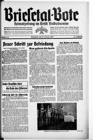 Briesetal-Bote vom 19.02.1938