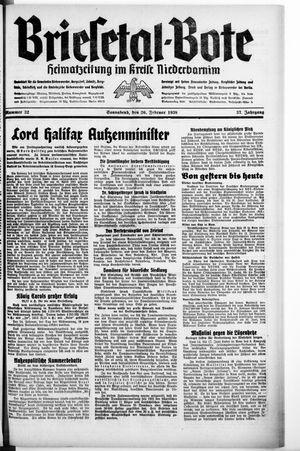 Briesetal-Bote vom 26.02.1938