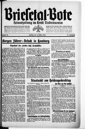 Briesetal-Bote vom 11.03.1938