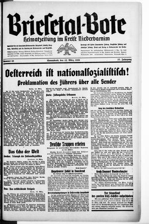 Briesetal-Bote on Mar 12, 1938