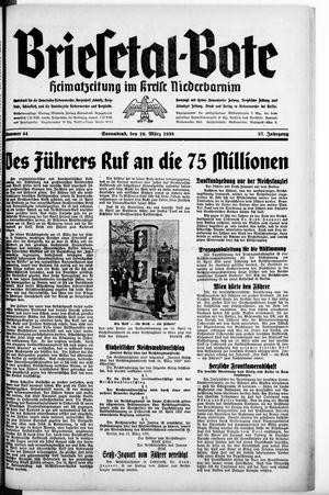 Briesetal-Bote vom 19.03.1938