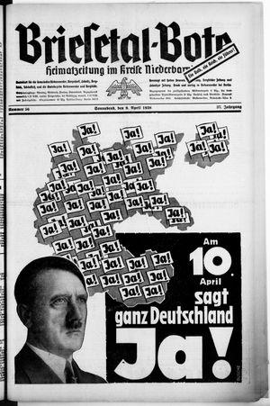 Briesetal-Bote vom 09.04.1938