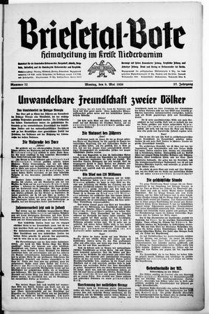 Briesetal-Bote vom 09.05.1938