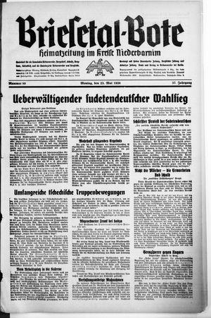 Briesetal-Bote vom 23.05.1938