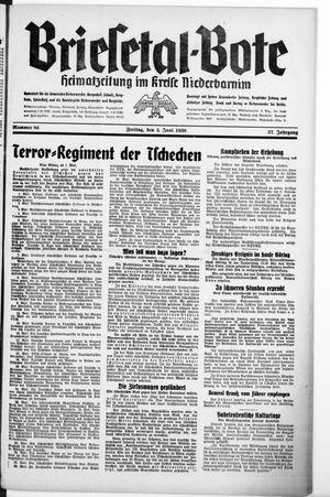 Briesetal-Bote vom 03.06.1938