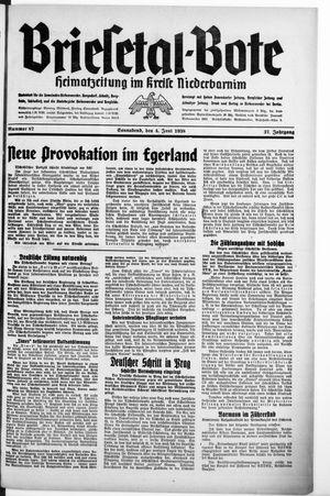 Briesetal-Bote vom 04.06.1938