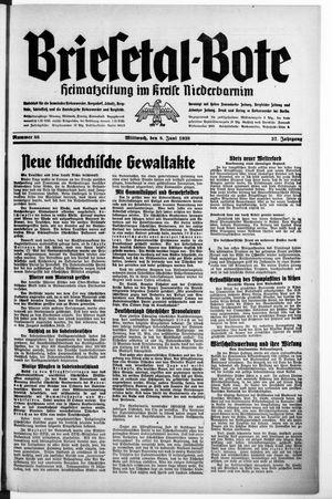 Briesetal-Bote vom 08.06.1938