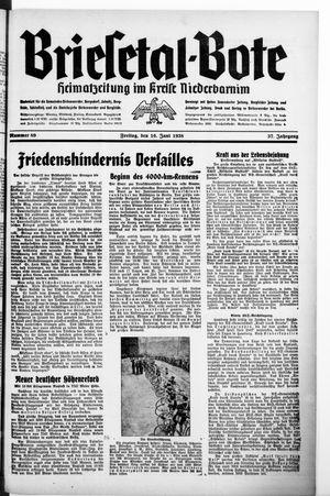 Briesetal-Bote vom 10.06.1938