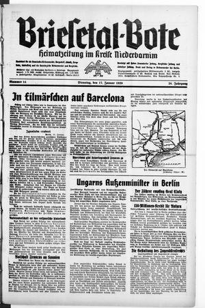 Briesetal-Bote on Jan 17, 1939