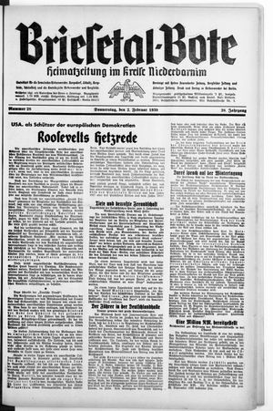 Briesetal-Bote vom 02.02.1939