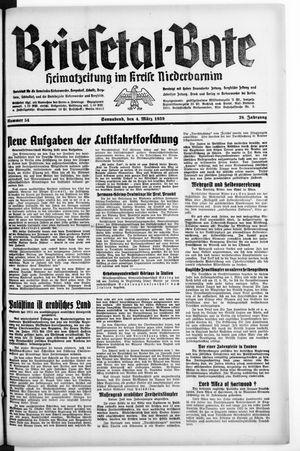 Briesetal-Bote vom 04.03.1939