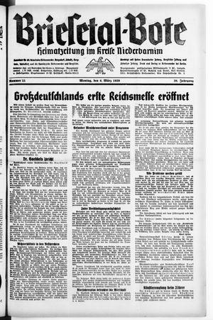 Briesetal-Bote vom 06.03.1939