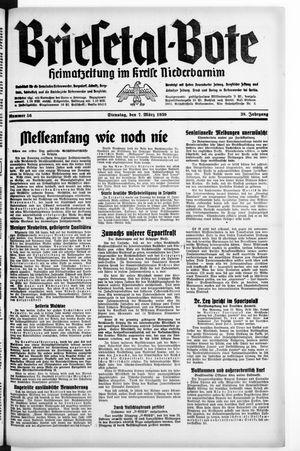 Briesetal-Bote on Mar 7, 1939