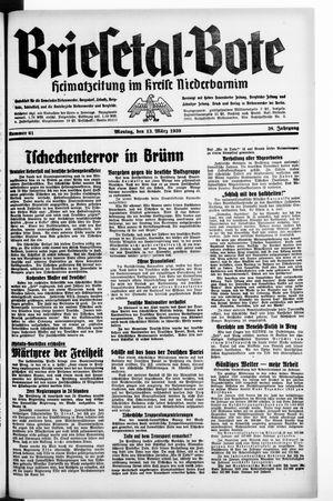 Briesetal-Bote on Mar 13, 1939