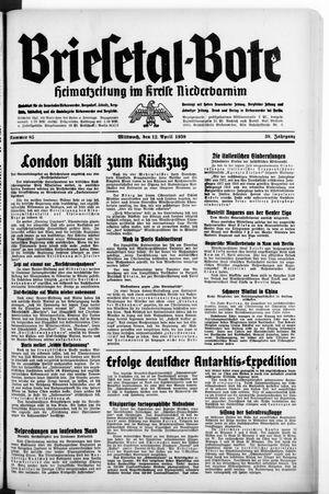 Briesetal-Bote on Apr 12, 1939