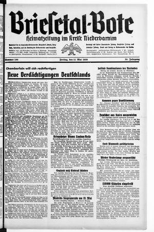 Briesetal-Bote vom 12.05.1939