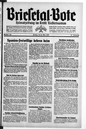 Briesetal-Bote vom 26.05.1939