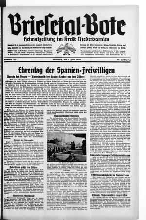 Briesetal-Bote vom 07.06.1939