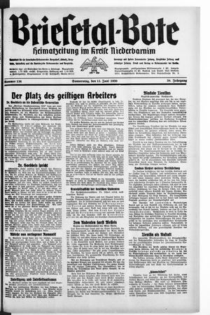 Briesetal-Bote vom 15.06.1939