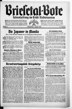 Briesetal-Bote vom 03.01.1942