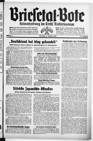 Briesetal-Bote vom 06.01.1942