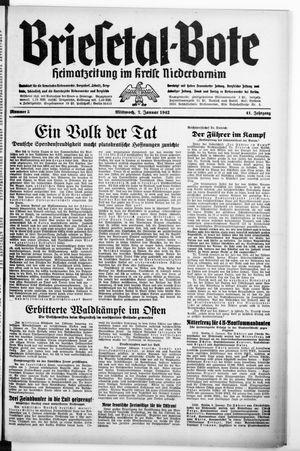 Briesetal-Bote vom 07.01.1942