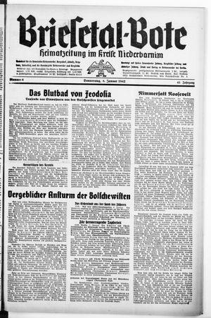 Briesetal-Bote vom 08.01.1942