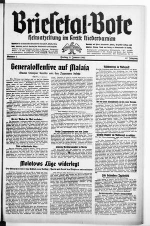 Briesetal-Bote vom 09.01.1942