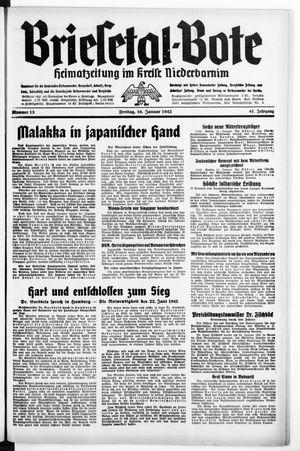Briesetal-Bote vom 16.01.1942