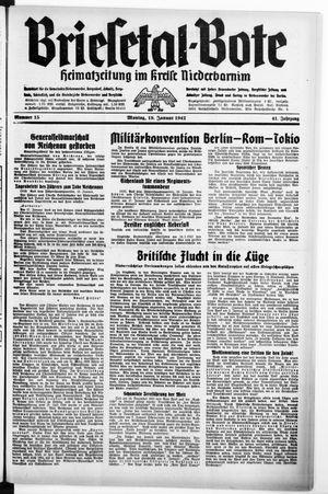 Briesetal-Bote on Jan 19, 1942