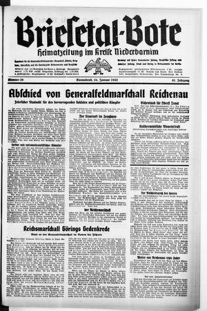 Briesetal-Bote vom 24.01.1942