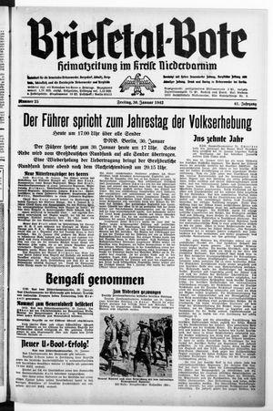 Briesetal-Bote vom 30.01.1942