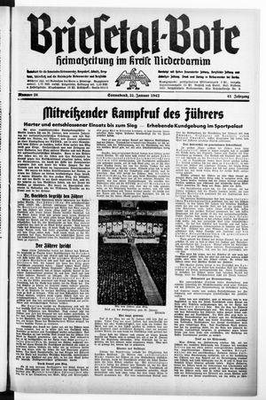 Briesetal-Bote on Jan 31, 1942