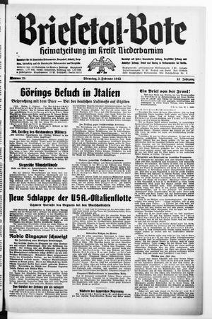 Briesetal-Bote vom 03.02.1942