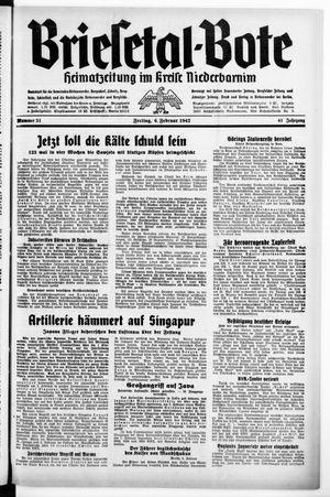 Briesetal-Bote vom 06.02.1942