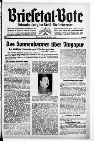 Briesetal-Bote vom 12.02.1942