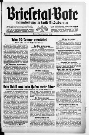 Briesetal-Bote on Feb 19, 1942