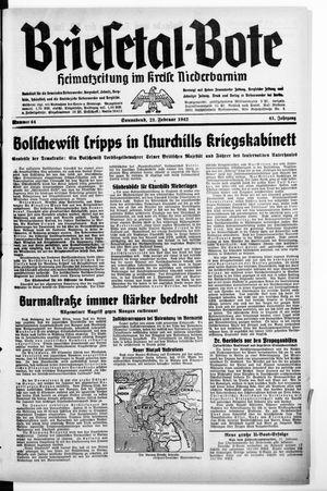 Briesetal-Bote vom 21.02.1942