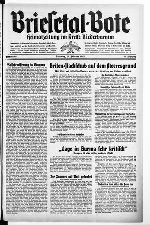 Briesetal-Bote vom 24.02.1942