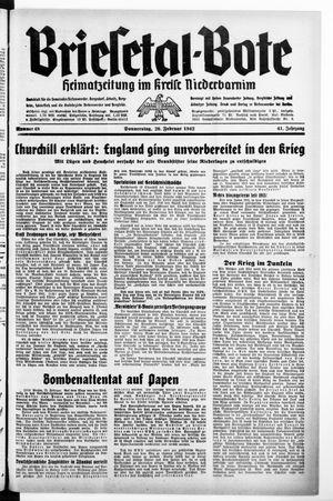 Briesetal-Bote vom 26.02.1942