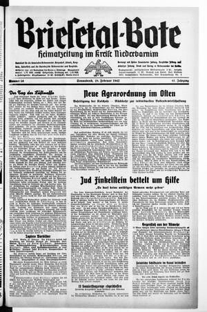 Briesetal-Bote vom 28.02.1942