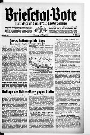 Briesetal-Bote vom 03.03.1942