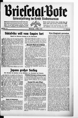 Briesetal-Bote vom 04.03.1942